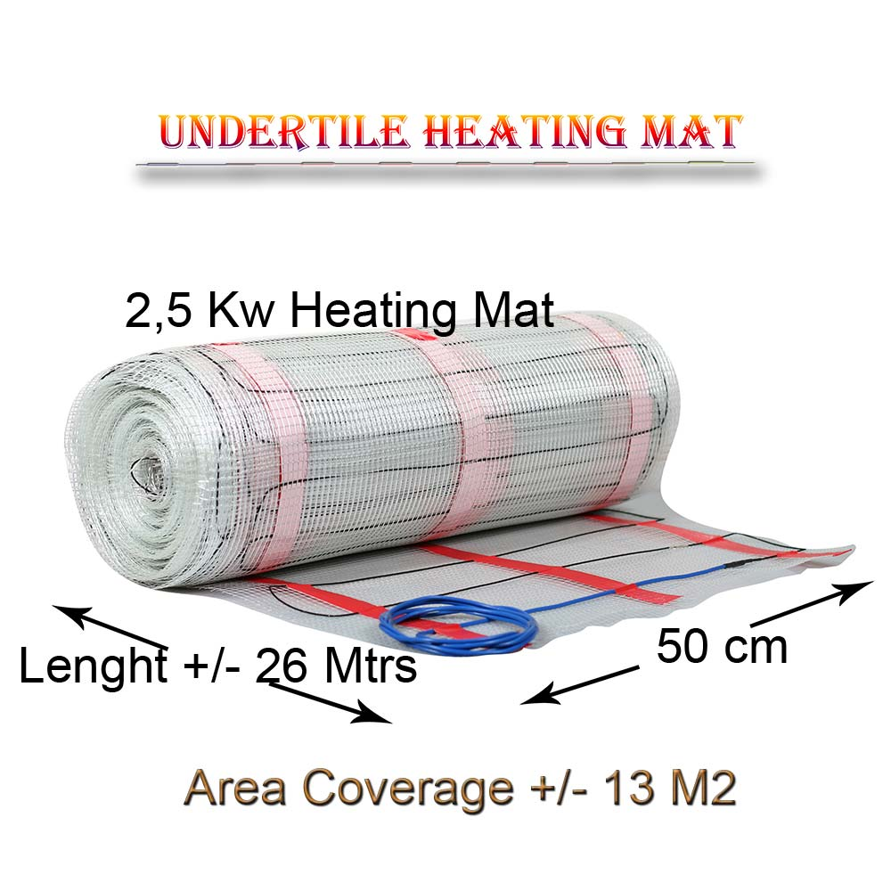 Floor Heating Mat Coverage 12 M2