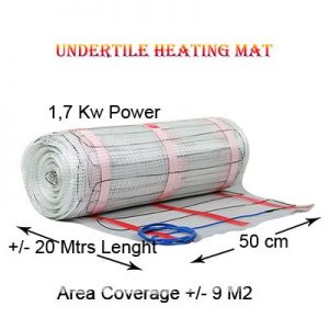 Floor Heating Mat 1,7 Kw