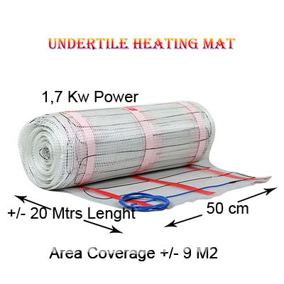 Floor Heating Mat 1,7 Kw Power
