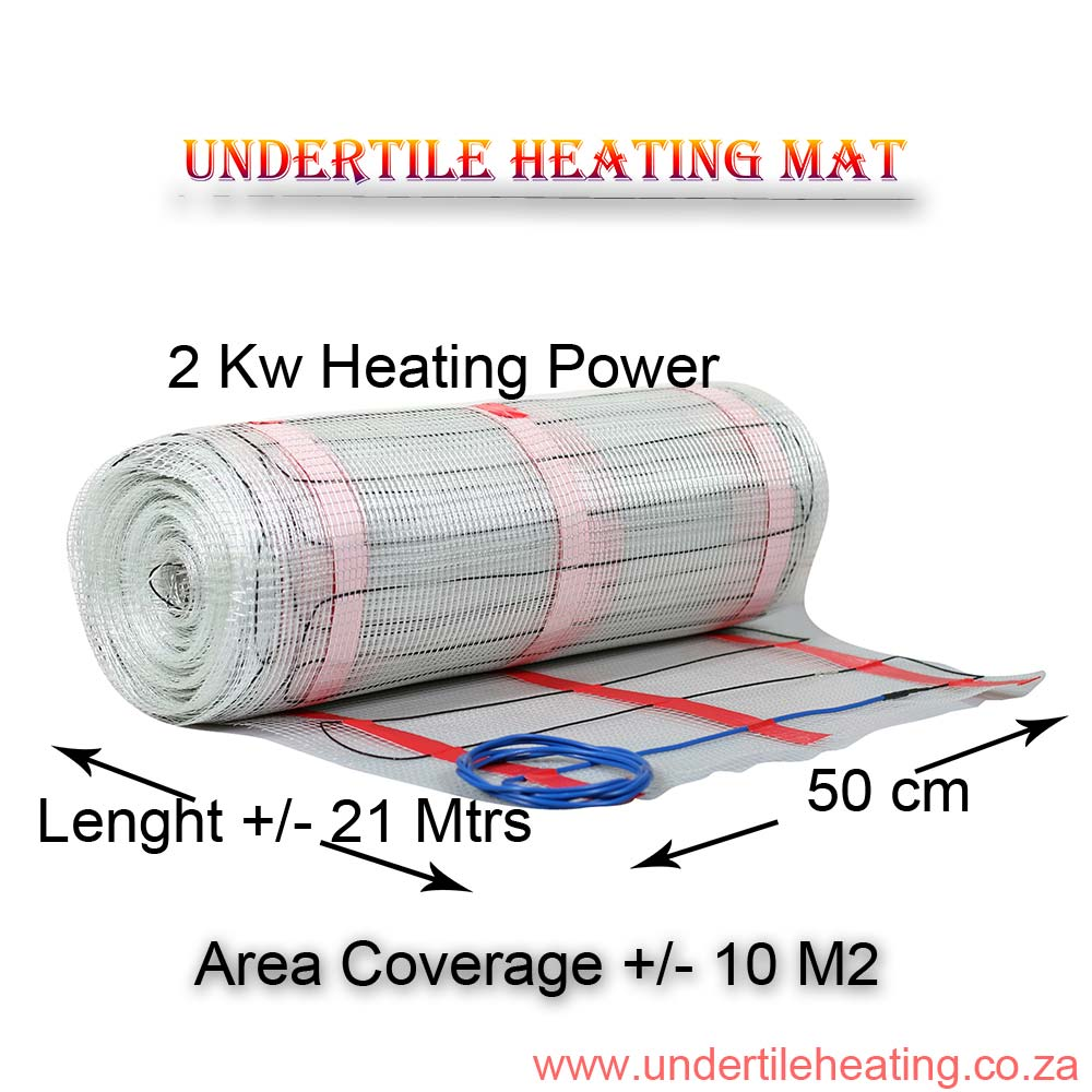 Heating Mat Coverage 10 M2