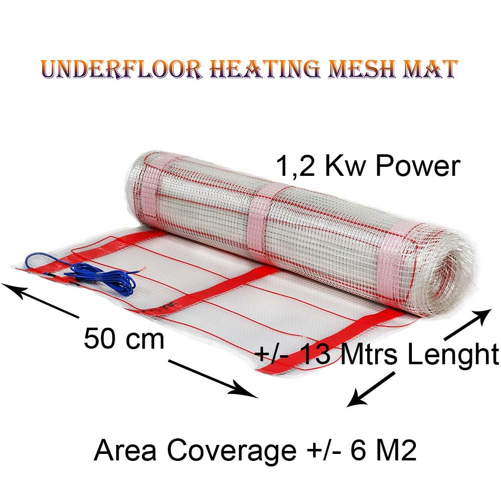 Under Tile Heating Mat 1,2 Kw