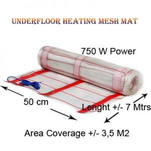 Under Tile Heating Mat 750w Power