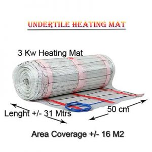 3KW Heater mat – coverage 16 M2