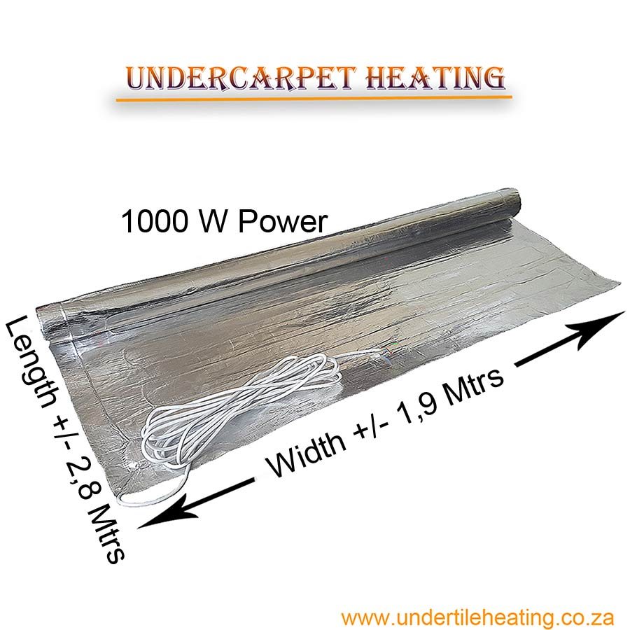 Under Carpet Heating 1000 W