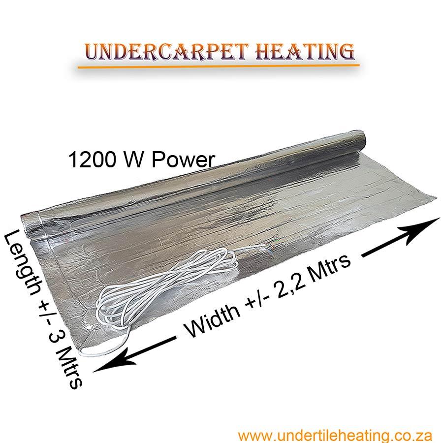 Under Carpet Heating 1200 W