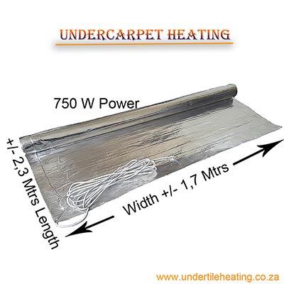 Undercarpet-Heating-750-W-(2,3-X-1,7-Mtrs)
