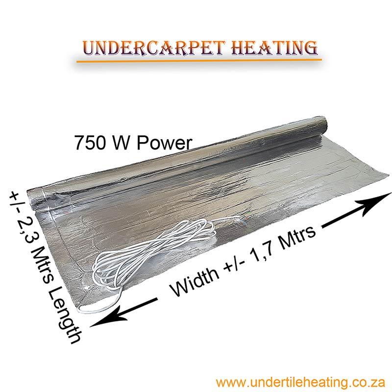 Undercarpet Heating 750 W
