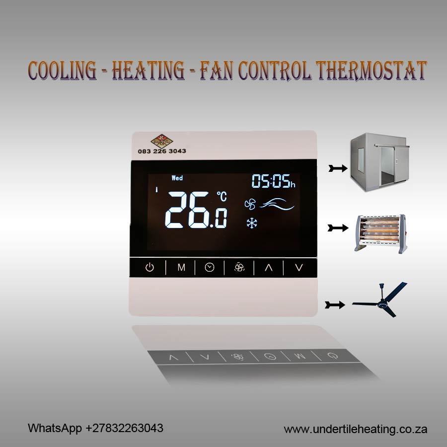 Cooling - Heating - Fan Control Thermostat