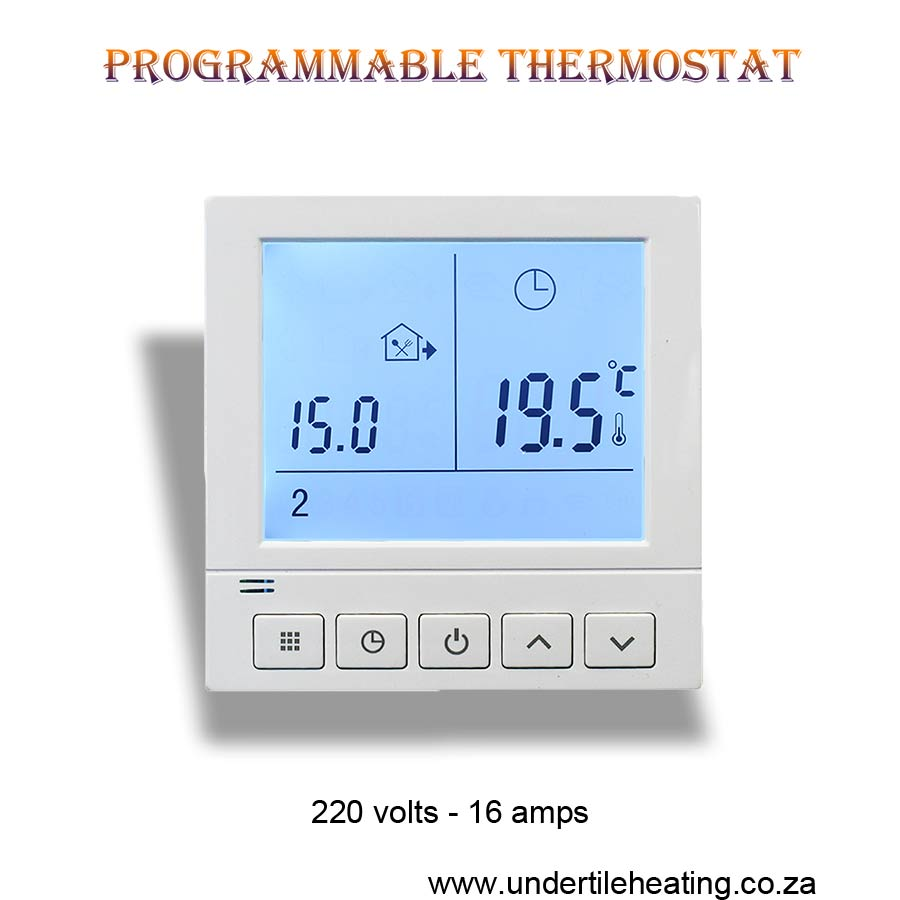 7 Days Programmable-Thermostat
