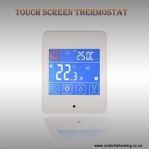 Touch Screen Thermostat – White