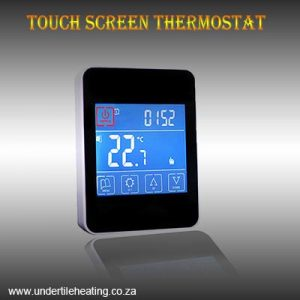 Touch Screen Thermostat – Black